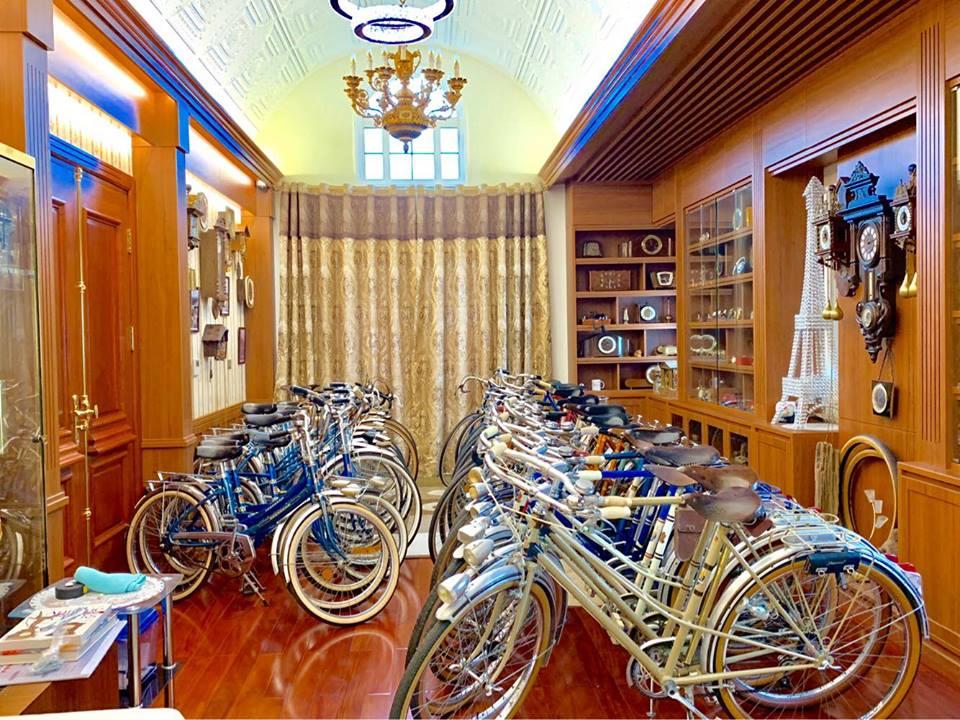 Bộ sưu tập xe đạp Peugoet của kỷ lục gia Đào Xuân Tình