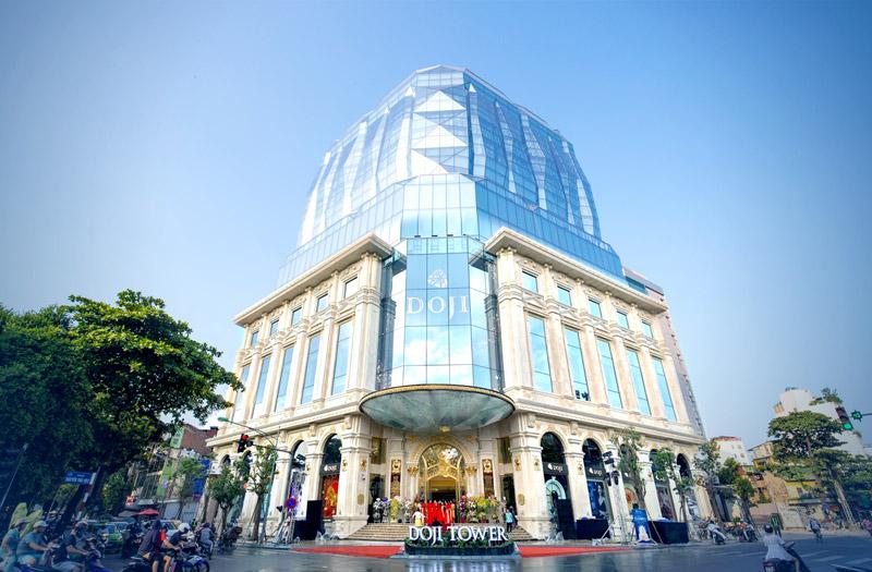DOJI Tower, được xem là kiệt tác kim cương khổng lồ giữa lòng Thủ đô Hà Nội