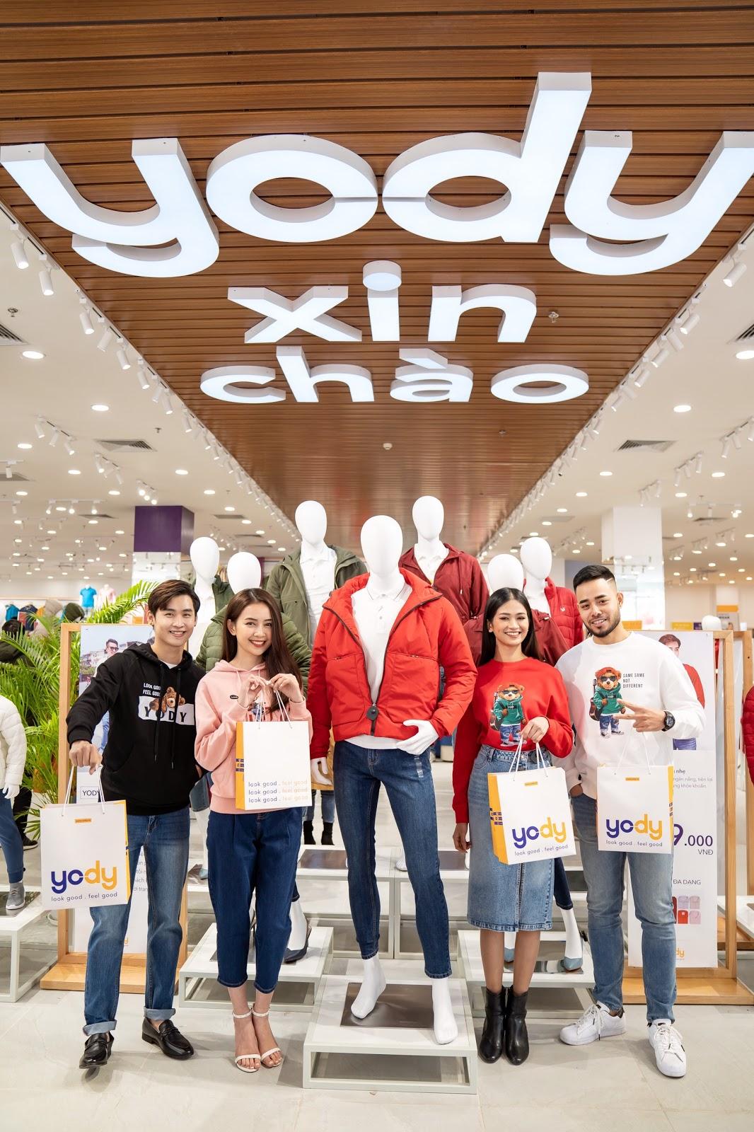 YODY xây dựng thương hiệu nổi bật với 3 phong cách thời trang