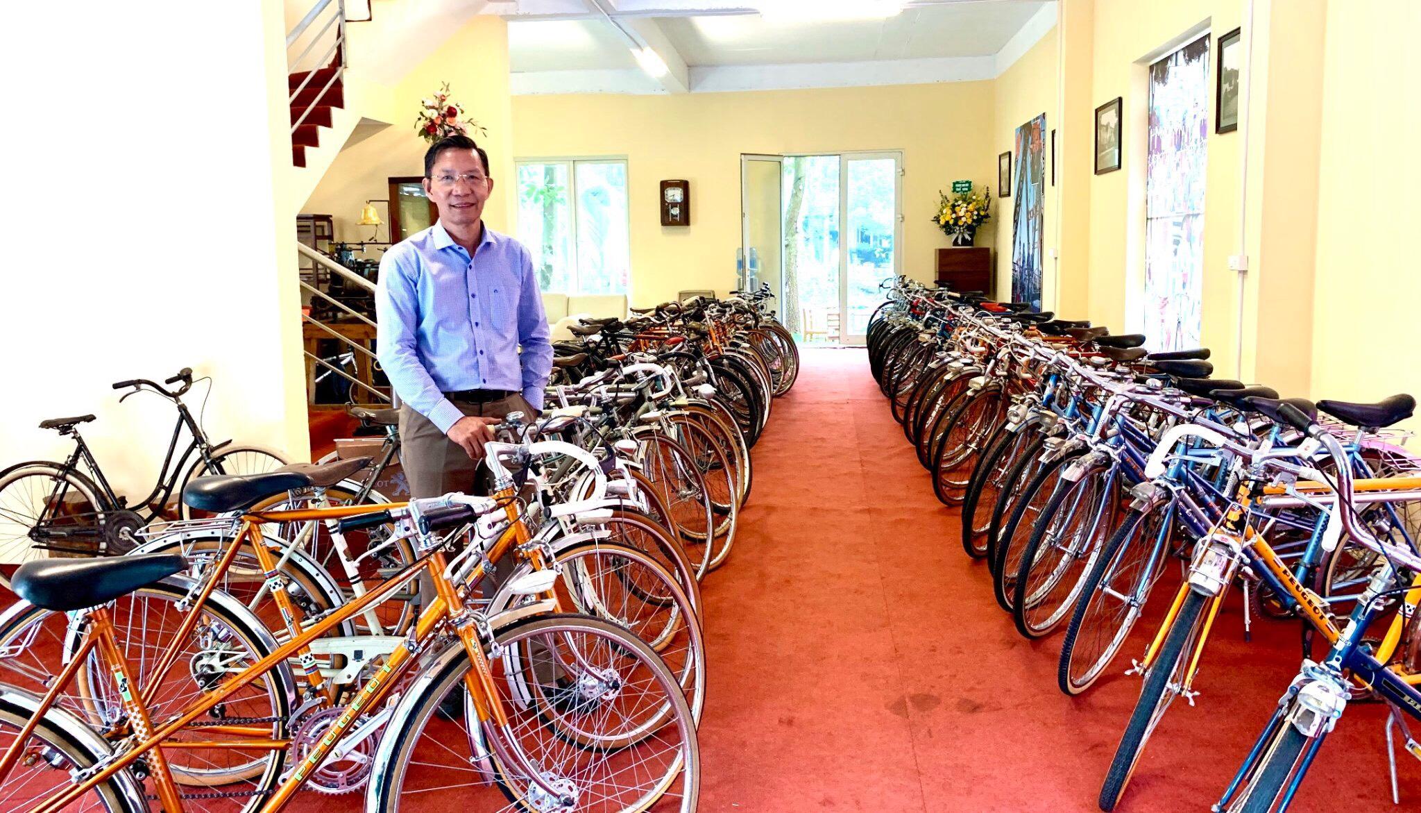 Bộ sưu tập xe đạp PEUGEOT sản xuất tại Cộng hòa Pháp của Kỷ lục gia Đào Xuân Tình
