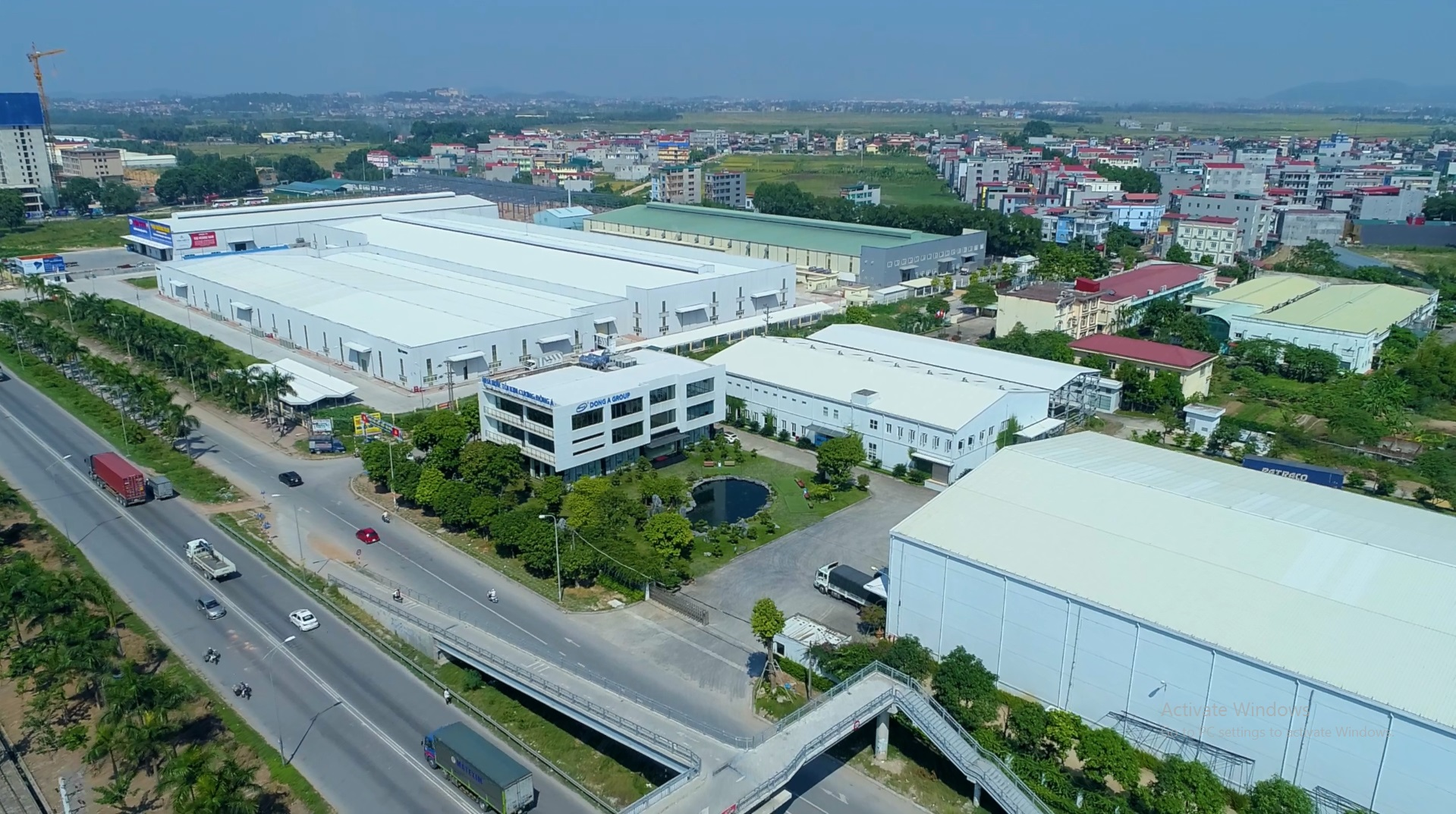 Toàn cảnh nhà máy Tỏi Kim cương Đông Á