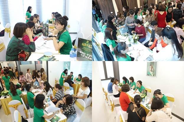 Sự kiện được ghi nhận Kỷ lục làSự kiện khai trương Thẩm mỹ viện và tặng quà cho khách hàng có số người tham dự đông nhất Việt Namtính đến nay.