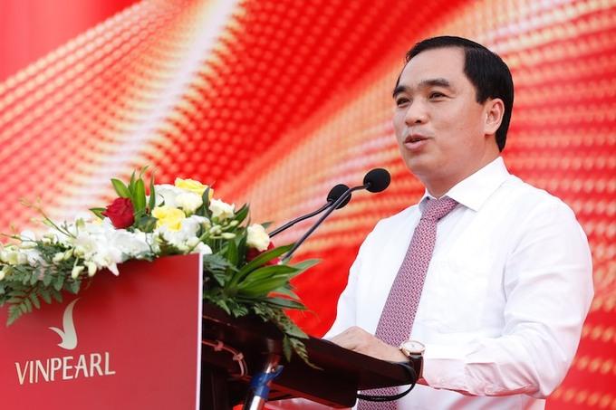 Ông Huỳnh Quang Hưng, Chủ tịch UBND thành phố Phú Quốc phát biểu tại sự kiện.