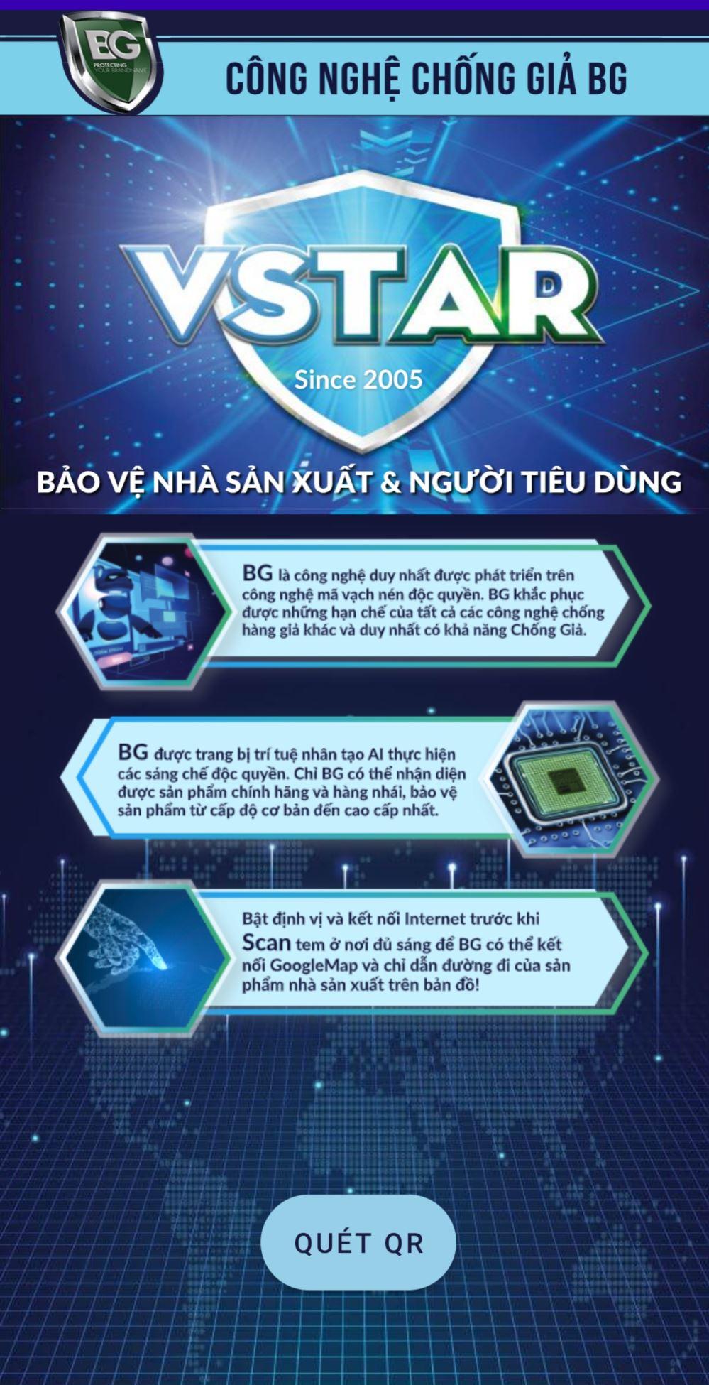 Công nghệ chống giả BG hiện đang được sử dụng trên các nền tảng IOS and Android.